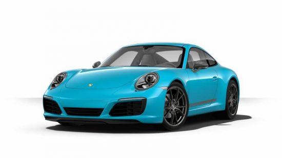 Porsche 911 tem várias versões e preços bem diferentes
