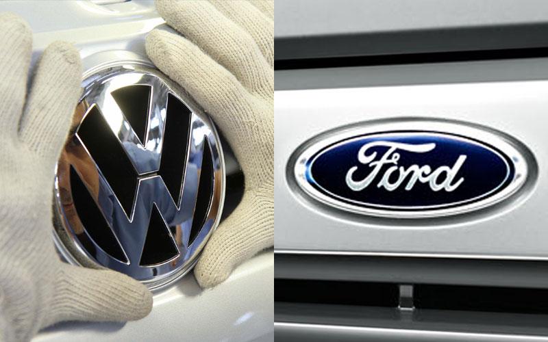 Parceria entre Volkswagen e Ford promete ser boa para os consumidores