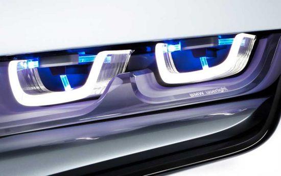 Faróis à laser BMW são super poderosos