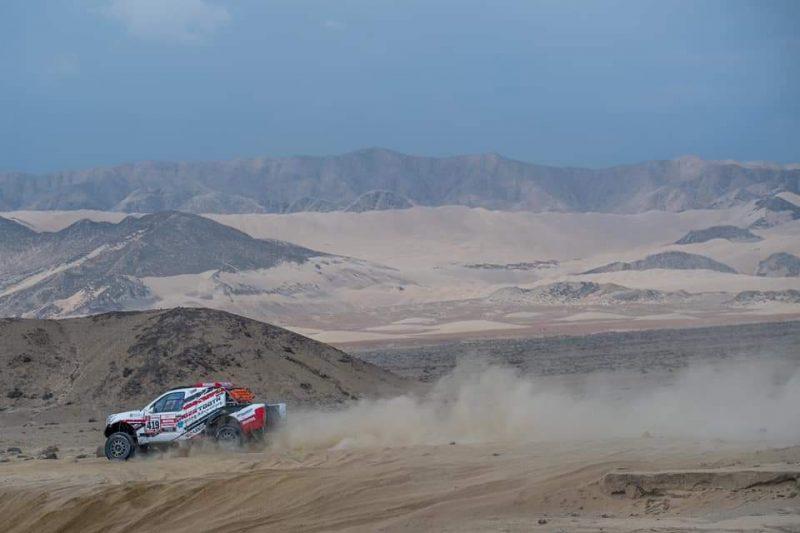 Nissan Frontier para o Rali Dakar