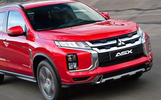 Mitsubishi ASX 2020 de cara nova