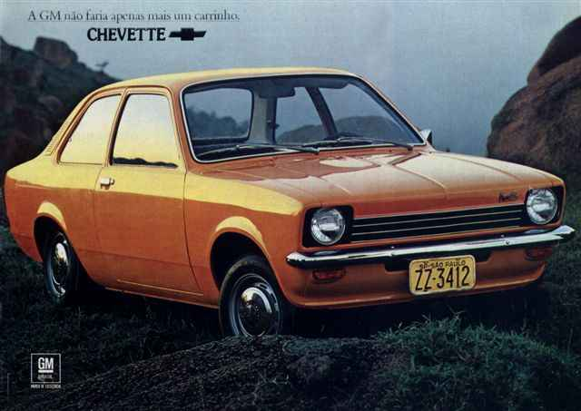 Primeiro modelo do Chevette