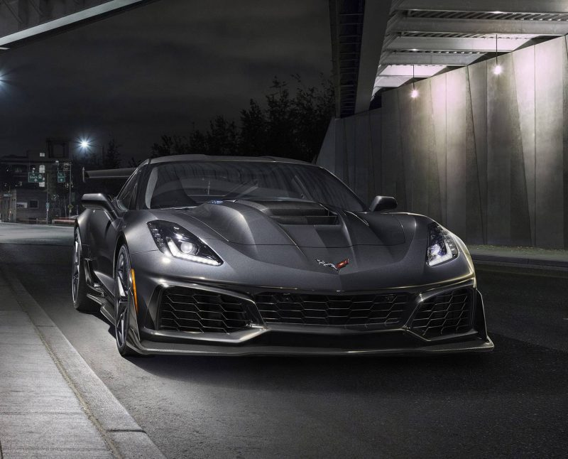 O som lindo do novo Chevrolet Corvette ZR1 2019