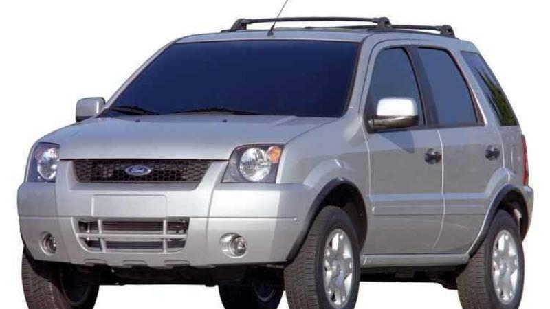 Lançado em 2003, o Ford EcoSport foi baseado na segunda geração nacional do Fiesta