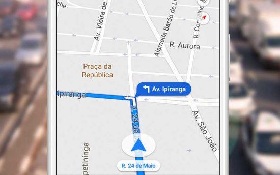 Como baixar e traçar rota com o Google Maps