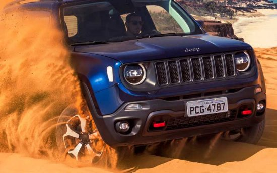Vídeo mostra versatilidade do novo Jeep Renegade 2019