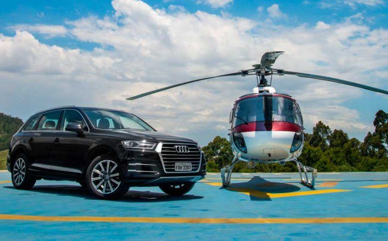 Audi e Airbus lançam serviço premium de mobilidade urbana em São Paulo