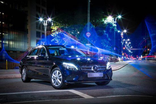 Vídeo mostra detalhes do novo Mercedes Classe C