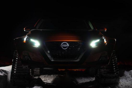 Nissan apresenta tração 4×4 especial em novo projeto