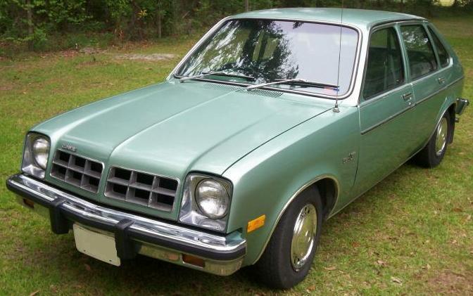 Chevette modelo 1978 (foto: ThePaper / wikimedia)
