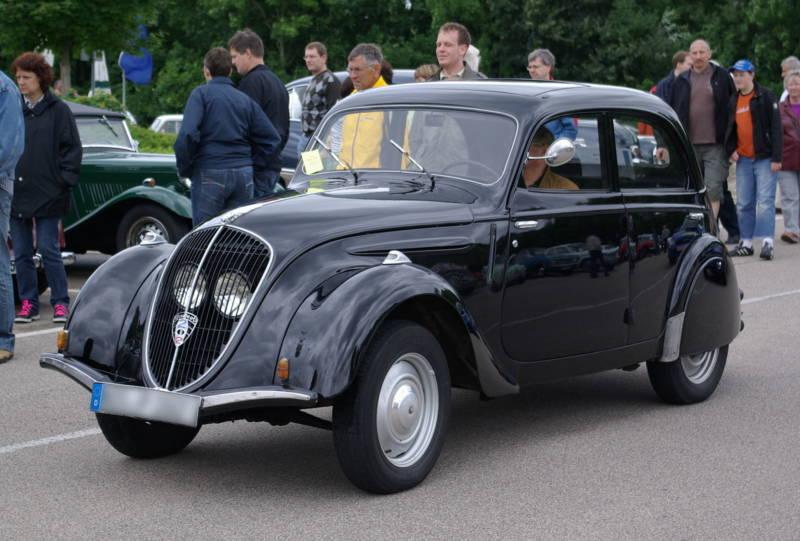 Peugeot 202 (Berthold Werner / Wikimedia)