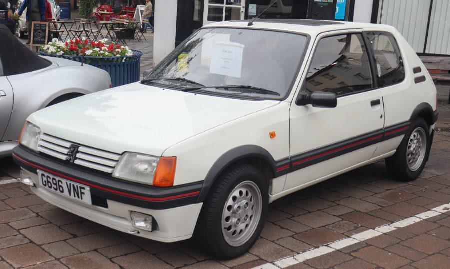 Peugeot 205 (Vauxford / Wikimedia)