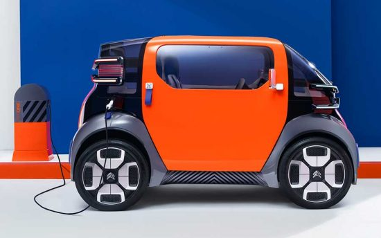 A solução da Citroen para a mobilidade urbana do futuro