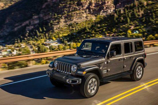 A quarta geração do Jeep Wrangler