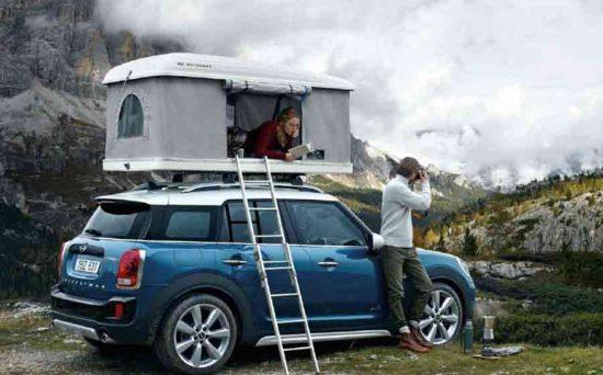 Agora você poderá acampar com seu Mini Cooper Countryman