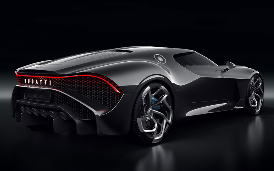 Confira fotos do Bugatti La Voiture Noire, o carro mais caro do mundo