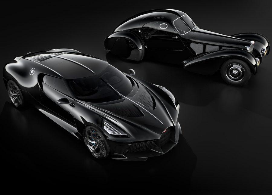 Bugatti La Voiture Noire foi inspirdo no Type 57 SC Atlantic