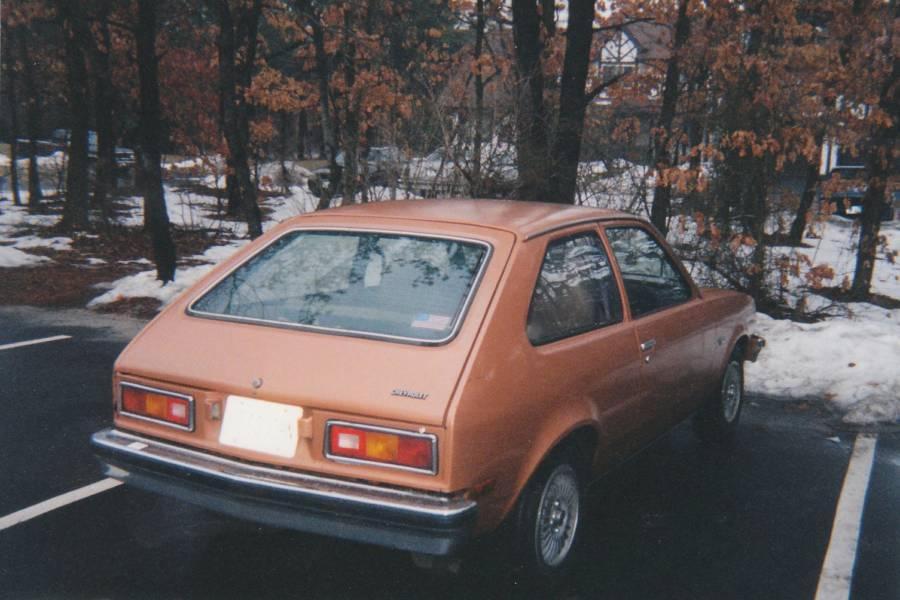 Versão americana do Chevette modelo 1977 duas portas hatchback (Vegavairbob/Robert Spinello / Wikimedia)