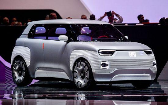 Mobilidade elétrica com o Fiat Concept Centoventi