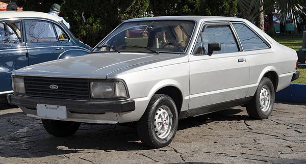 Ford Corcel II (foto: Prefeitura Municipal Itanhaém)