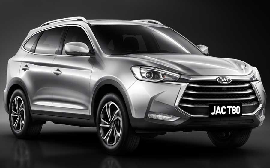 JAC T80 promete luxo em um SUV de 7 lugares