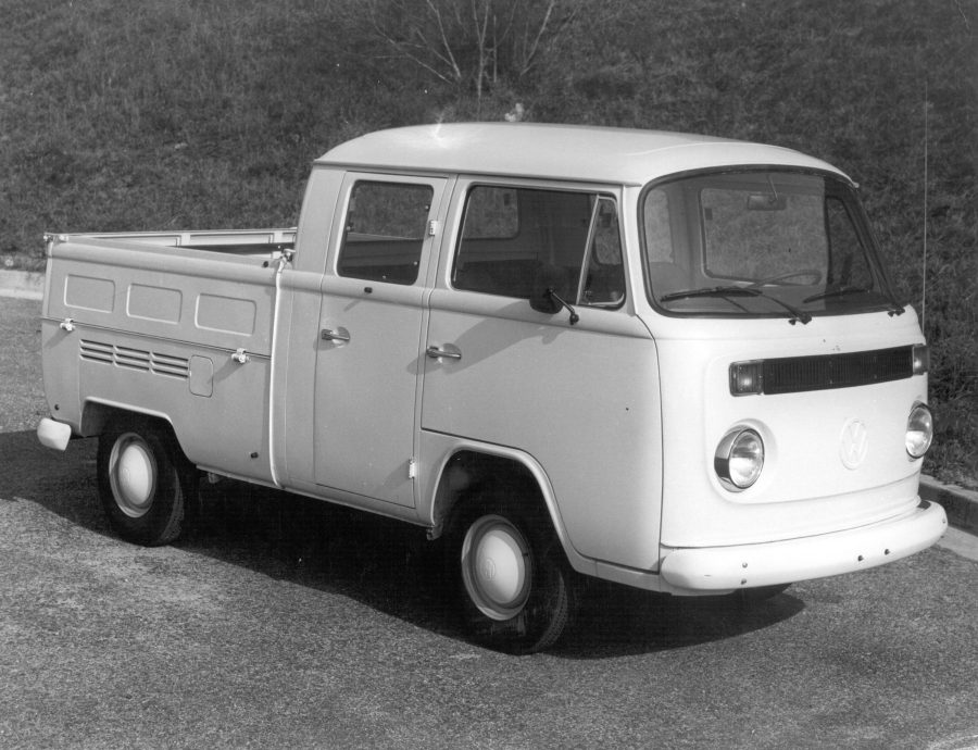 1981 - Kombi Pick-up Standar Cabine Dupla