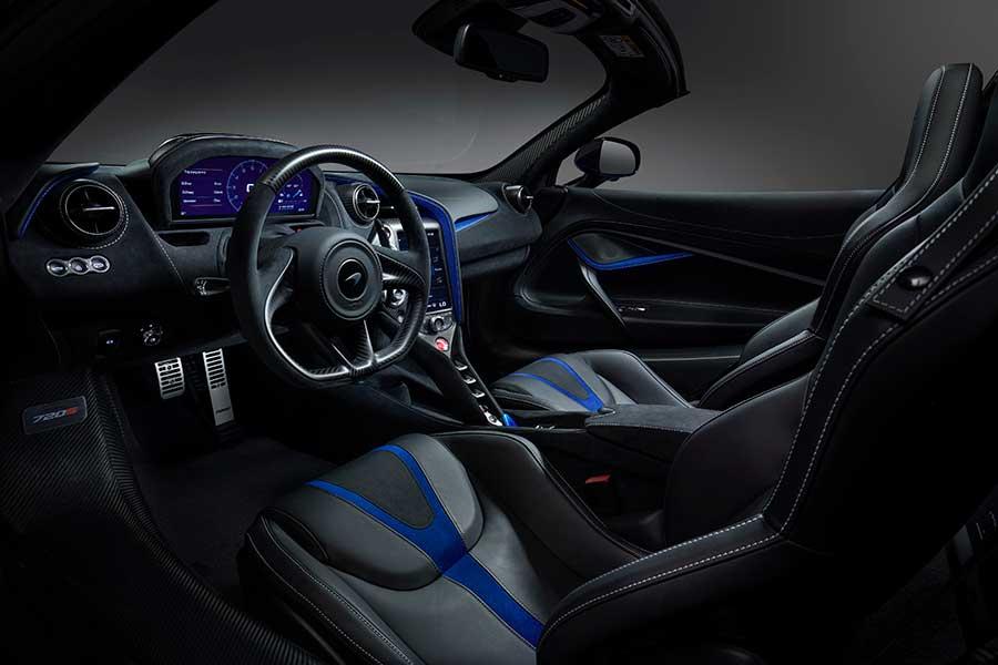 McLaren 720S Spider da MSO