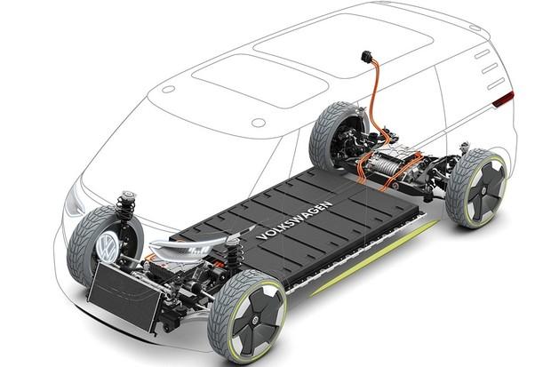 Plataforma MEB prevê baterias sob o assoalho