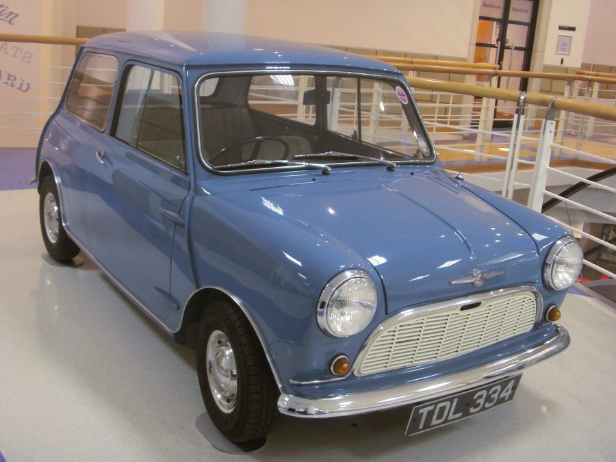 Mini 1959 (foto: Mark Brown / wikimedia)