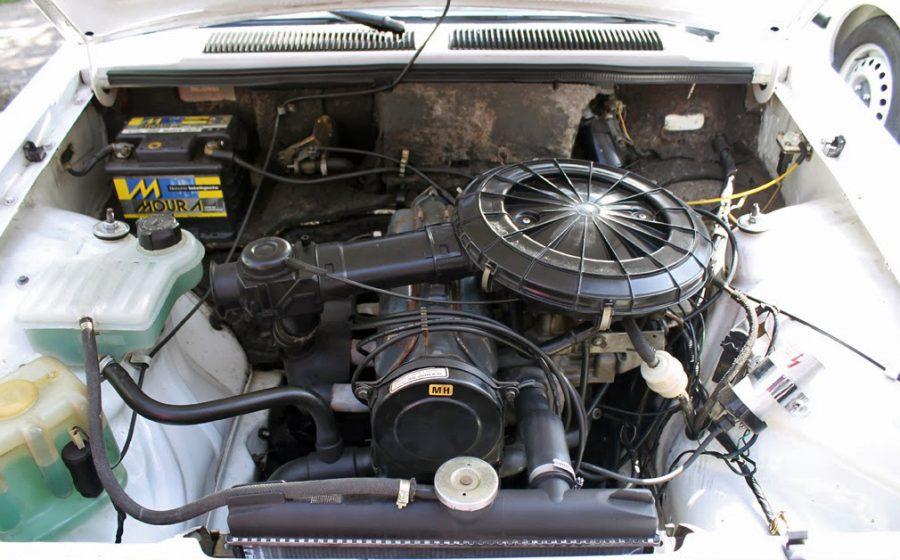 Motor 1.6 do Chevette. (foto; Rodrigo de Almeida Fraga de Oliveira / wikimedia)