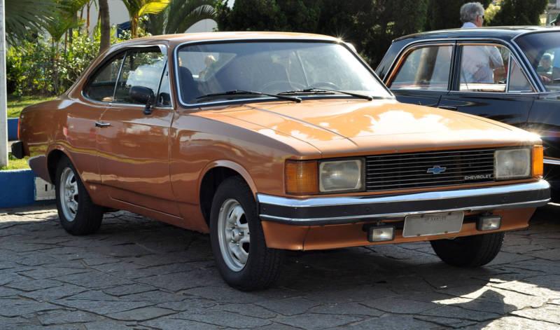 Chevrolet Opala coupé (foto: Prefeitura Municipal Itanhaém)
