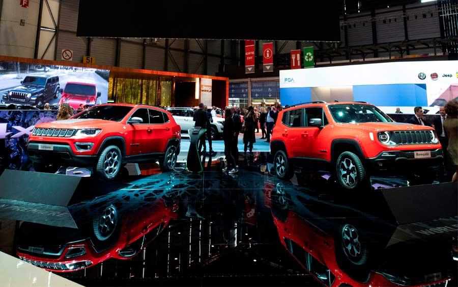 Jeep apresenta Renegade e Compass com tecnologia plug-in híbrida