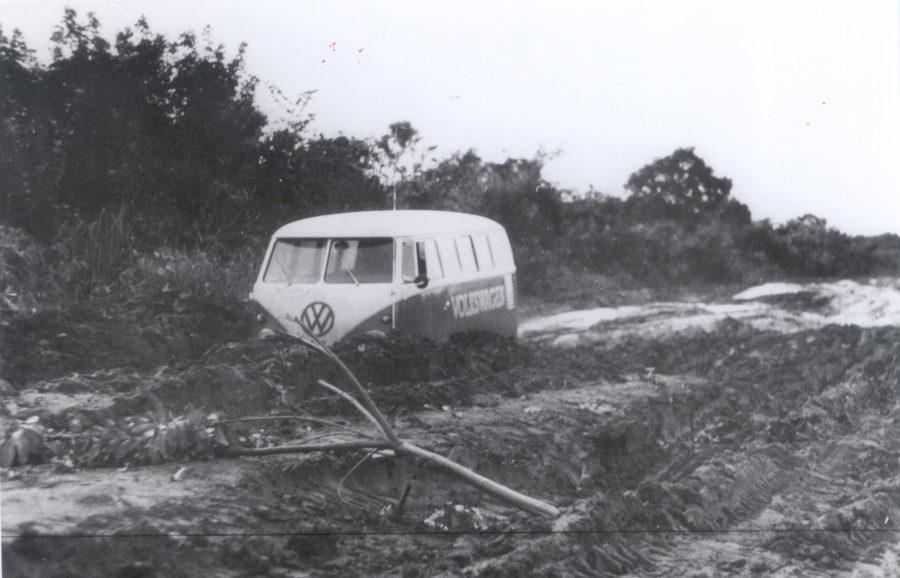 Kombi em testes 1969