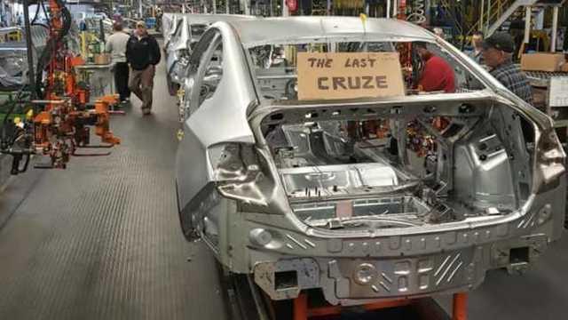 A Chevrolet encerrou a produção do Chevrolet Cruze nos Estados Unidos e no México