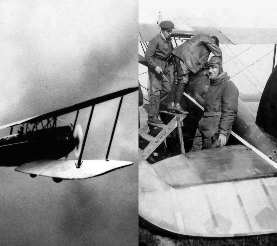 Franz Zeno Diemer decolou do aeroporto de Oberwiesenfeld, em Munique, e colocou seu destino na confiança de um motor de avião BMW IV.