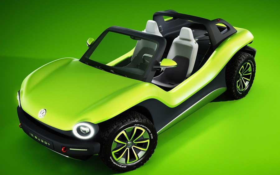 VW ID Buggy é um carro elétrico com 204 cv de potência