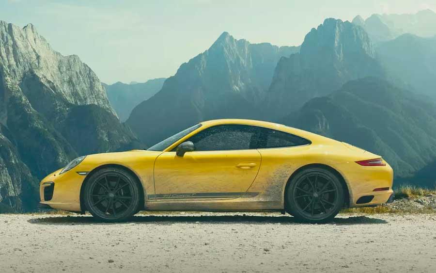 Porsche 911 Carrera T é um dos modelos mais acessíveis da linha