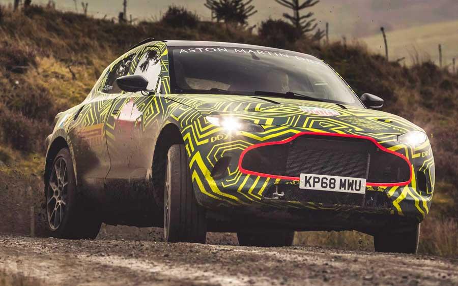 DBX é o primeiro SUV da Aston Martin