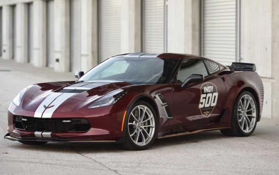 Corvette Grand Sport será destaque nas 500 Milhas de Indianápolis 2019