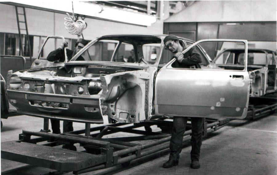 Linha de produção fazia os primeiros modelos Chevette