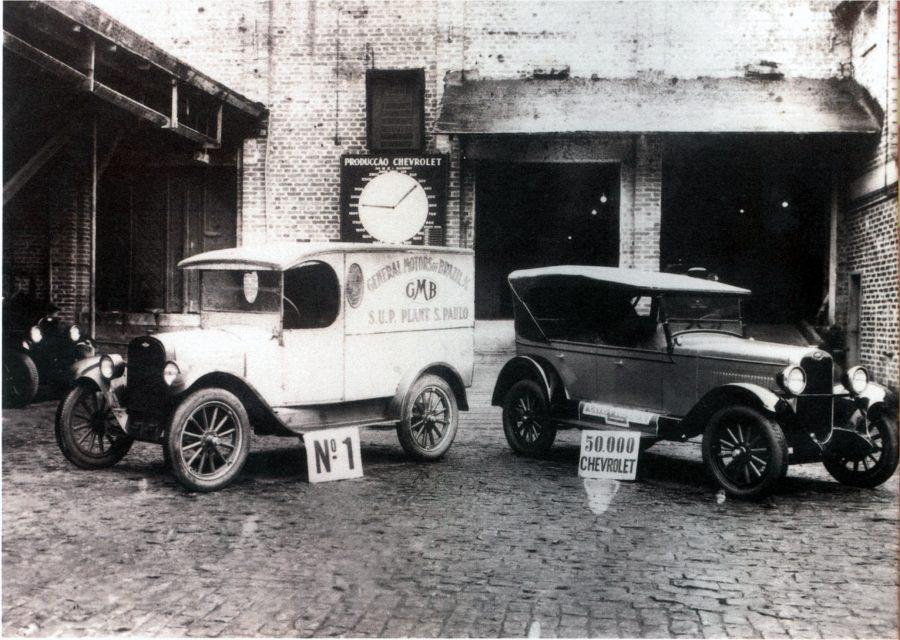 O primeiro Chevrolet e o de número 50.000; apenas três anos os
