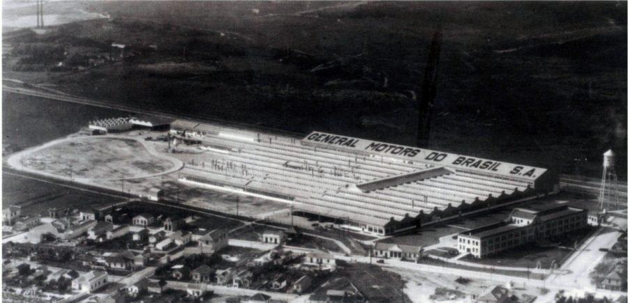 Nos anos 30, a fábrica de SCS dominava a paisagem da cidade