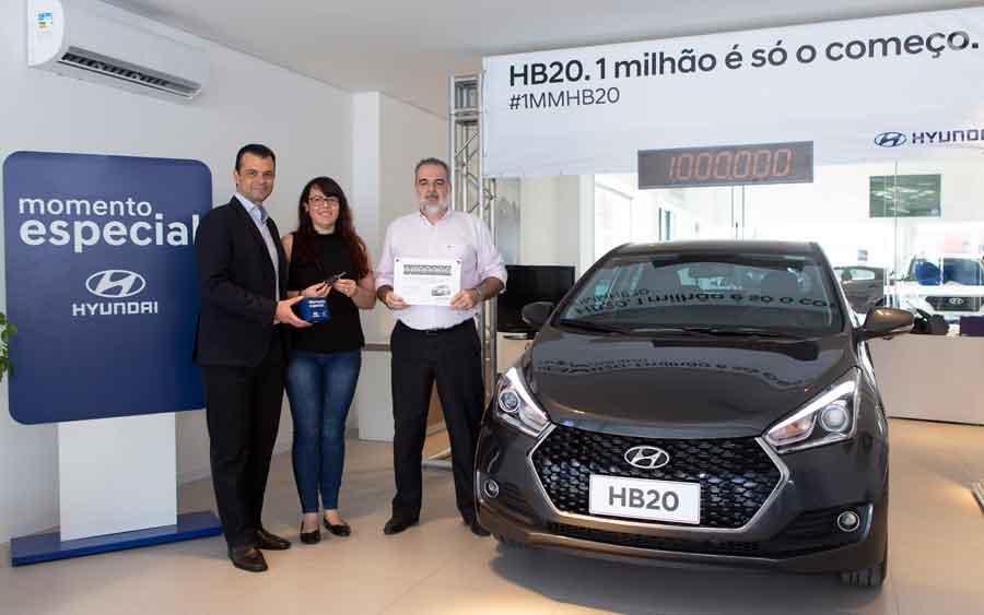 Milionésimo HB20 já foi vendido