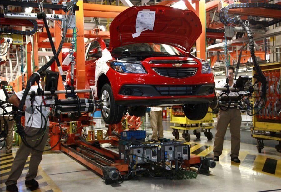O Complexo Industrial Automotivo da GM em Gravataí (RS)