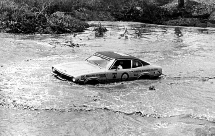 Maverick no Raid da Integração Nacional - 1973