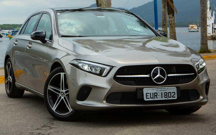 Mercedes Classe A 2019 lidera o segmento premium de hatch compactos
