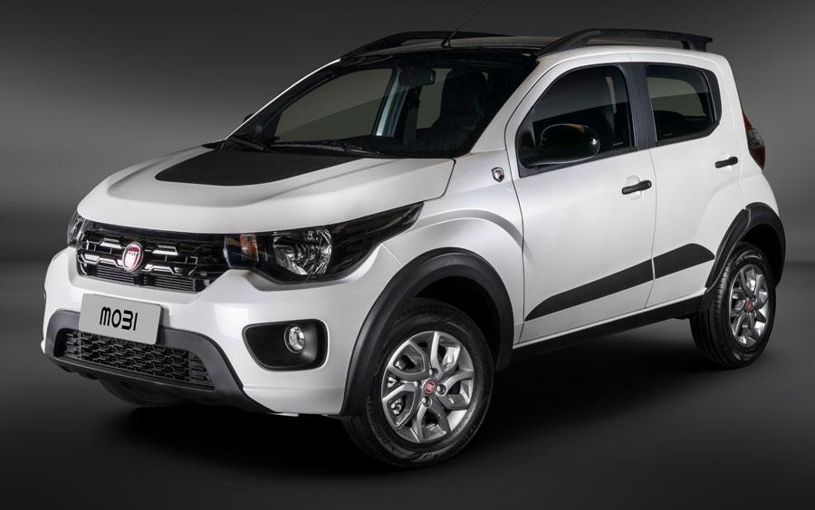 Pagando mais R$ 950, Fiat Mobi Cross tem visual aventureiro com novos adesivos