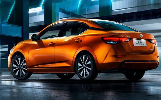 Nissan Sentra 2020 aparece mais esportivo na China (Por lá ele é chamado de Nissan Sylphy)