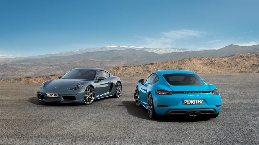 Porsche 718 Cayman e Porsche 718 Cayman S