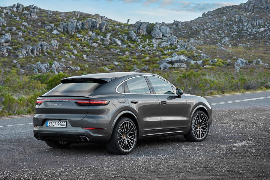 Novo Porsche Cayenne Turbo Coupé